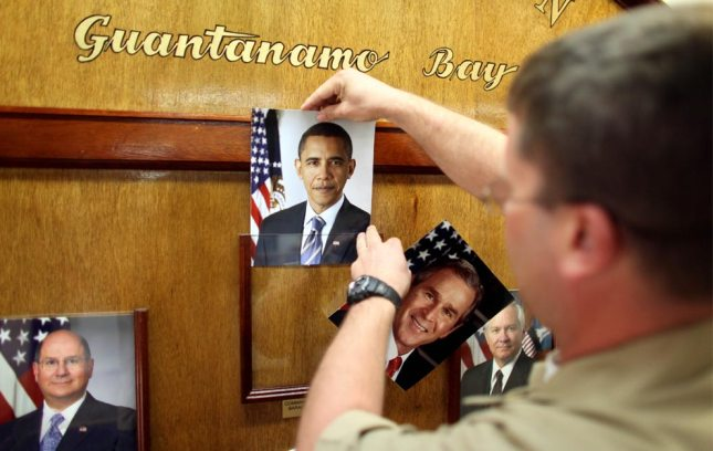 Big 'Change' At Guantanamo: Picture of Commander-in-Chief Changed